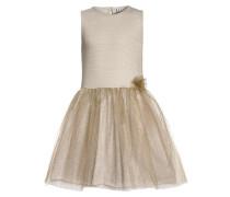 Cocktailkleid / festliches Kleid gold metallic