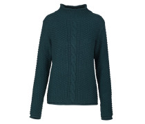 MINNA Strickpullover dark green