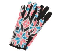 ALPINE Fingerhandschuh bryte pink/stained glass