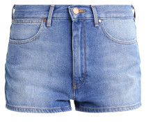 RETRO PIN UP - Jeans Shorts - blue