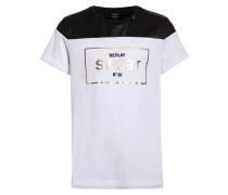 TShirt print optical white