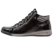 Sneaker high schwarz/gun