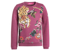 NONO Sweatshirt purple berry melange