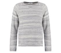 BELOUCHI Sweatshirt grey white melange