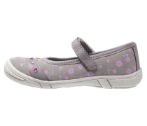 Riemchenballerina grey/light purple