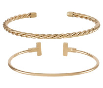 2 PACK - Armband - gold-coloured