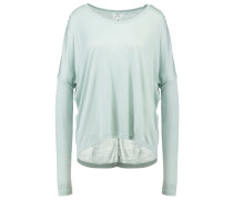 Langarmshirt aqua gray