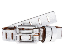 Gürtel silver metallic