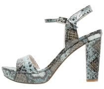 High Heel Sandaletten denim
