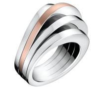 BREATHE - Ring - silber-coloured