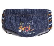 AHOI Badehosen Slips jeansblau