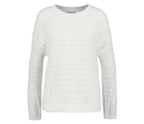 Strickpullover offwhite