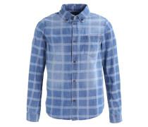 NORBERT - Hemd - mid blue check