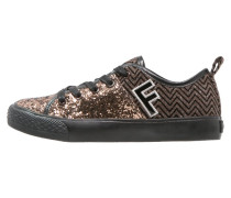 Sneaker low marrone
