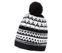 Mütze - black/cream