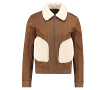 Leichte Jacke light brown