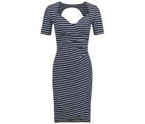 LAURA Jerseykleid marine stripes