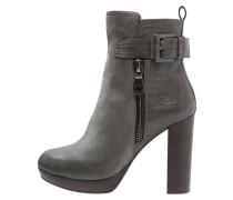 High Heel Stiefelette - dark grey