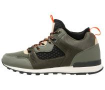 Sneaker high - olive/black
