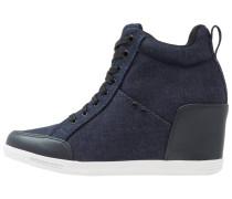 GStar NEW LABOUR WEDGE Sneaker high dark navy