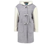 Wollmantel / klassischer Mantel grey/offwhite