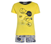 FUN ATTITUDE SET - T-Shirt print - grey chine