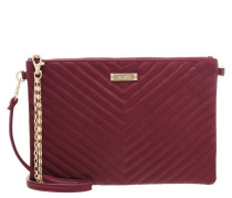 POMBIA Clutch bordeaux