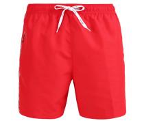 Badeshorts - red