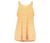 BUNELLA - Top - orange/white