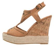 High Heel Sandaletten camel
