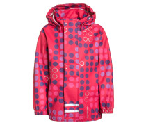 JESSI Regenjacke / wasserabweisende Jacke bright red
