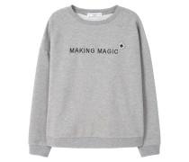 JOYA Sweatshirt medium heather grey