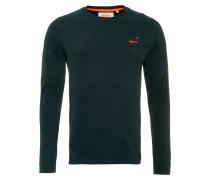 Langarmshirt - enamel green jaspe