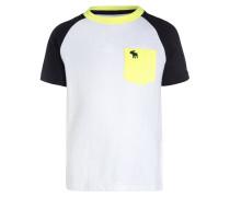 ECLECTIC - T-Shirt print - navy/green