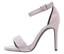 SNOWY - High Heel Sandaletten - mid grey