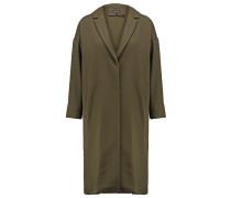 Wollmantel / klassischer Mantel khaki/olive