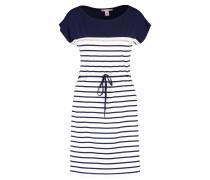 Jerseykleid - blue/white