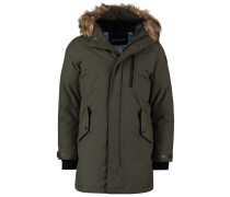 Wintermantel khaki