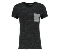 RABICO TShirt print black melanged