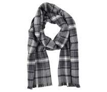 Schal grey plaid