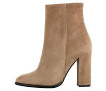 High Heel Stiefelette brown