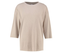 THERMAL BOXY - Strickpullover - sand