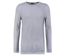 LAMAR - Strickpullover - light grey