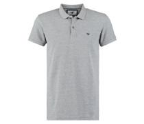 ZANE Poloshirt grey melange