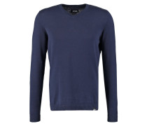 Strickpullover dark blue