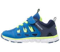 SPIRIDON FIT - Sneaker low - blau/marine/lemon
