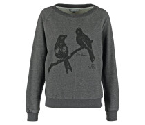 LOVE BIRDS Sweatshirt dark grey