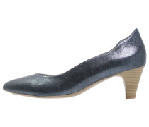 Pumps ocean metallic