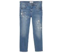 CROTIA Jeans Straight Leg dark blue