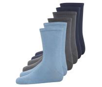NIT 6 PACK Socken asphalt